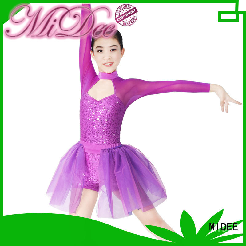 customization lyrical dress full dance clothes performance