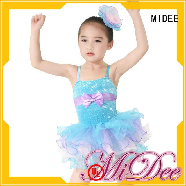 MIDEE anti-wear kids ballet clothes bulk production show