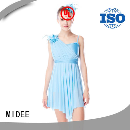 customization dance costumes for women floral dance clothes competition