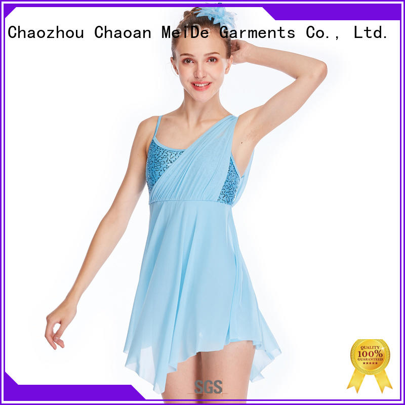 MIDEE mesh lyrical solo costumes dance clothes stage