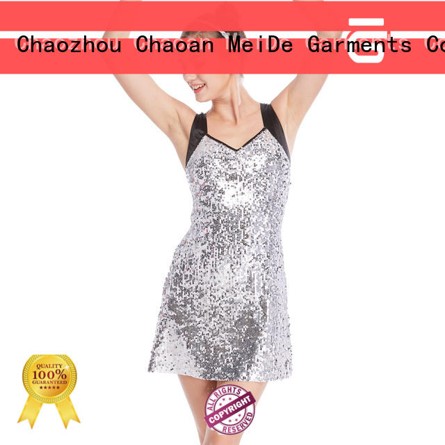 odm tap dance costumes black for wholesale competition