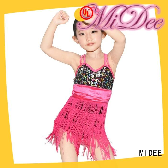 MIDEE OEM lyrical dance dresses custom stage