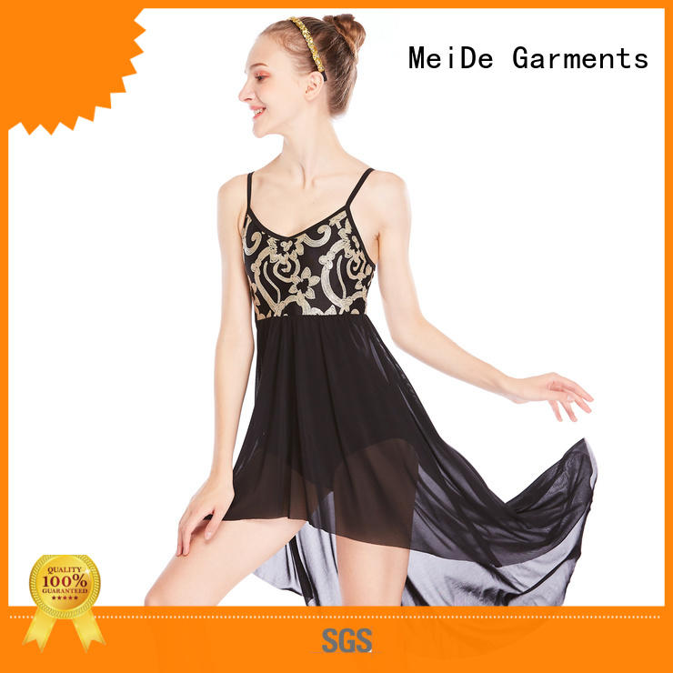 MIDEE customization adult dance clothes spirals competition