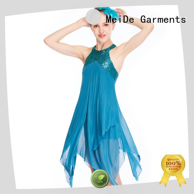 MIDEE full lyrical dance costumes custom show