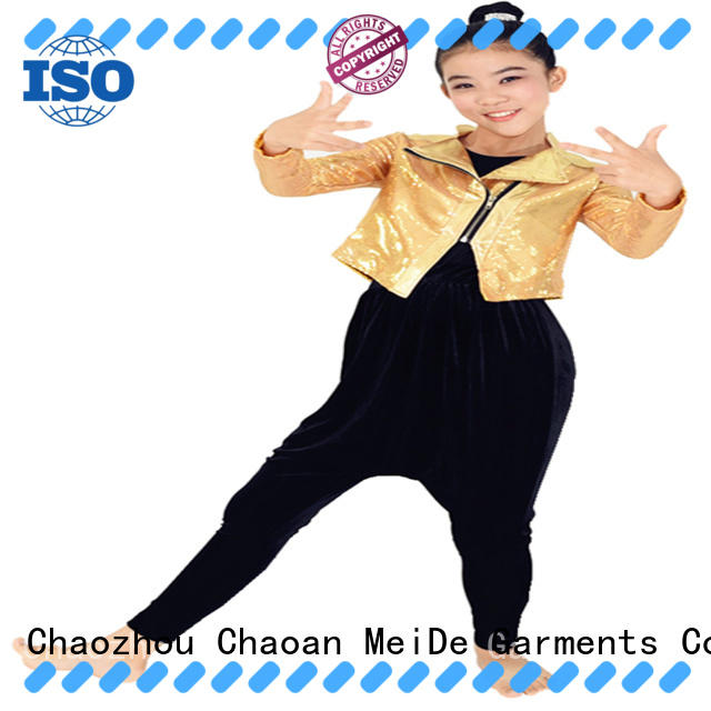 MIDEE professional dress jazz dance costumes for competition customization dancer