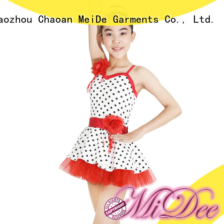MIDEE comfortable ballet leotards for girls factory price Stage