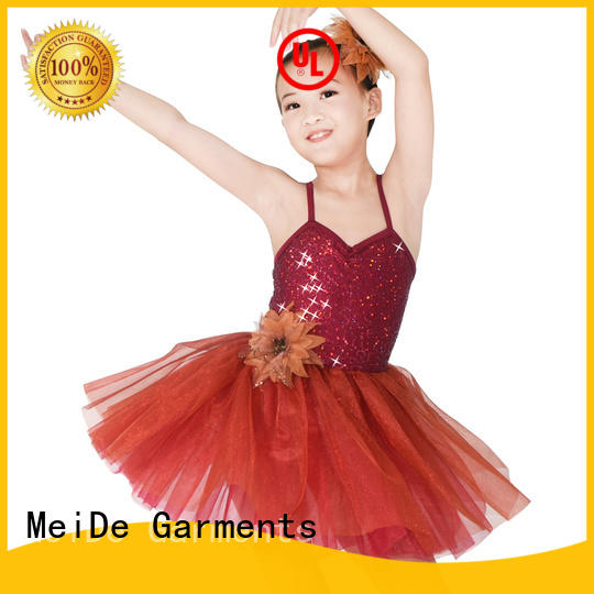 MIDEE waistband toddler ballet leotards odm dance school