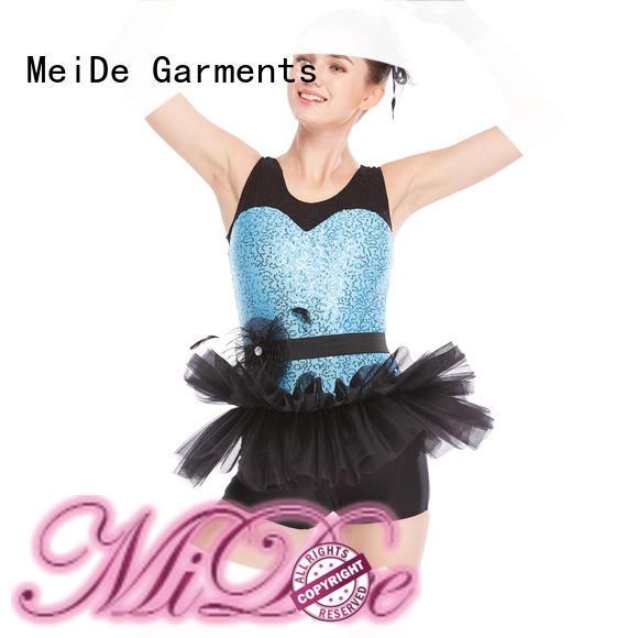 Breathable dance performance wear supplier activities MIDEE