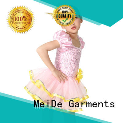MIDEE anti-wear kids ballet clothes bulk production Stage