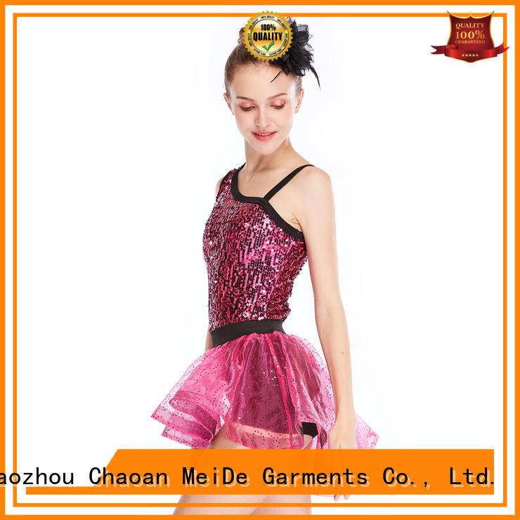 MIDEE professional dress jazz leotards manufacturer show