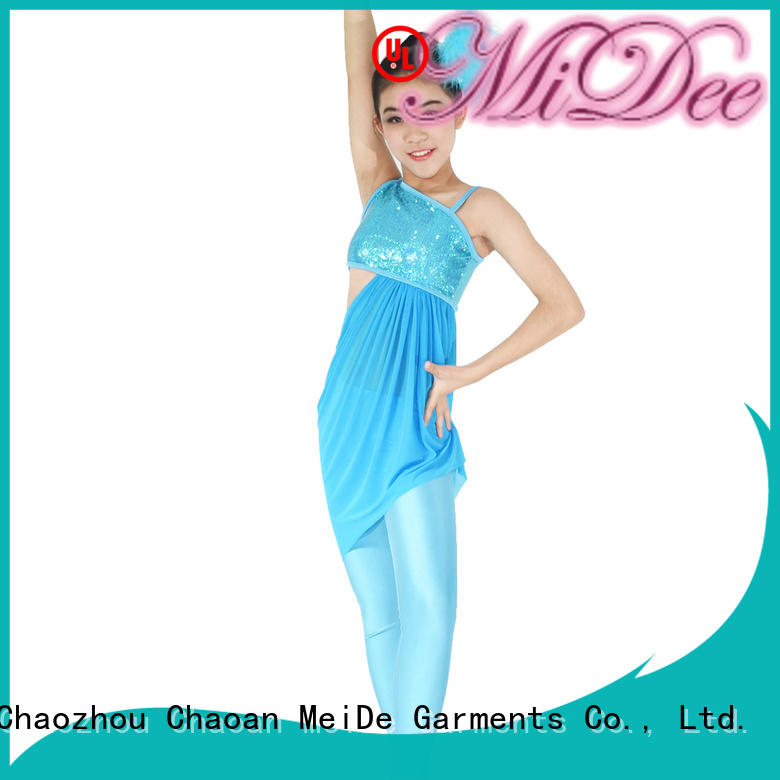 MIDEE tap jazz costumes for competition manufacturer show