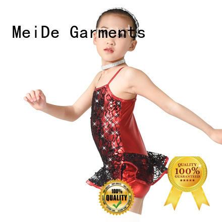 MIDEE cheerful latin dance costumes manufacturer show