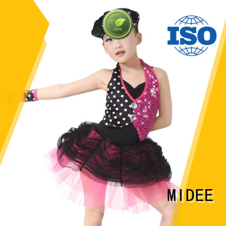MIDEE anti-wear kids ballet outfit bulk production Stage