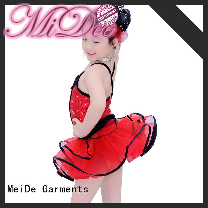 MIDEE sleeves ballet dance costumes odm competition