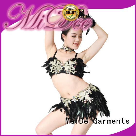 odm girls jazz costumes midee manufacturer show