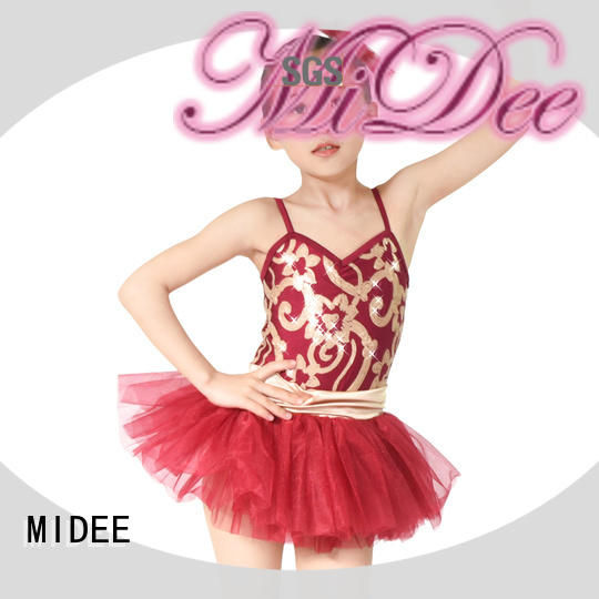 comfortable dance costumes ballet sleeves bulk production competition