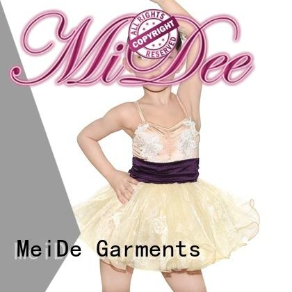 MIDEE comfortable toddler ballet leotards bulk production competition