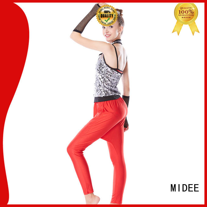 MIDEE professional dress jazz clothing for wholesale competition