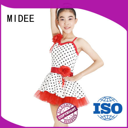 MIDEE long kids ballet dress odm competition