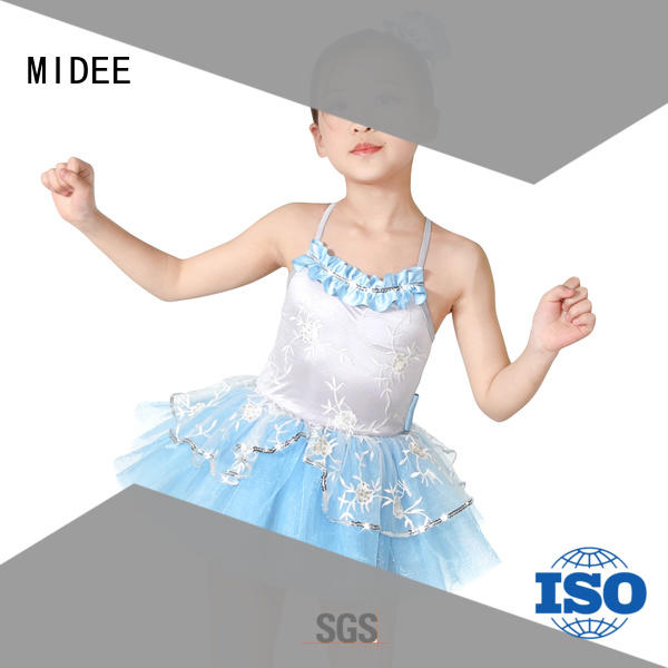MIDEE performance kids ballet clothes odm show