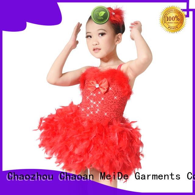 MIDEE adjustable girls ballet clothes factory price dance school