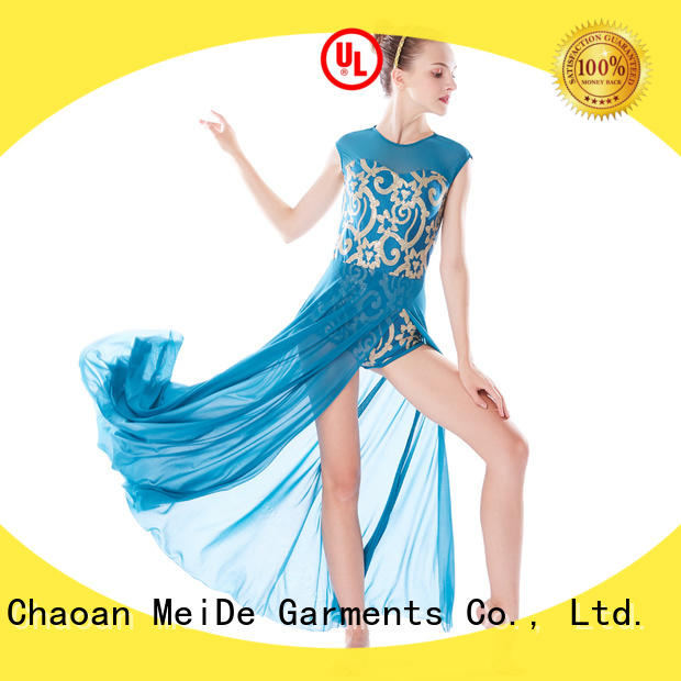 MIDEE top lyrical dance outfits dance clothes competition
