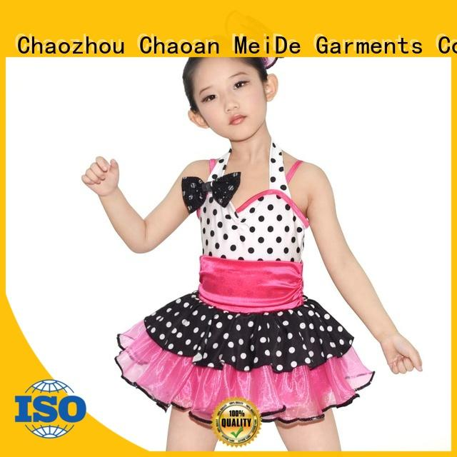 MIDEE waistband toddler ballet outfit odm show