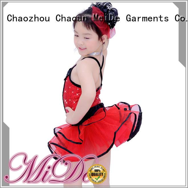 MIDEE velvet toddler ballet outfit odm show