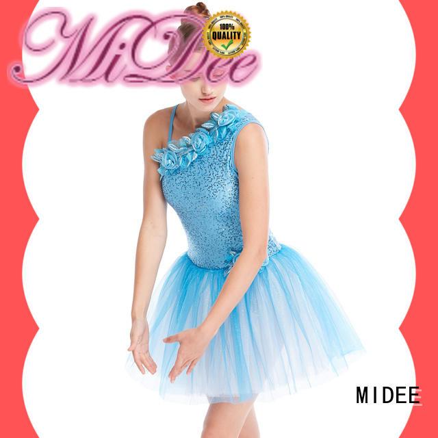 MIDEE comfortable ballet dresses for girl bulk production dancer