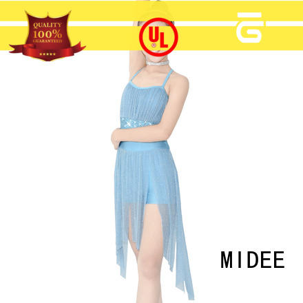 MIDEE spirals two piece lyrical dance costumes custom show