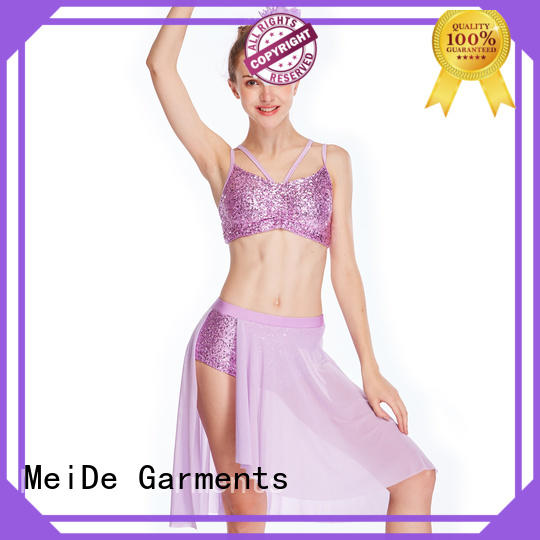 MIDEE OEM lyrical dance dresses dance clothes competition