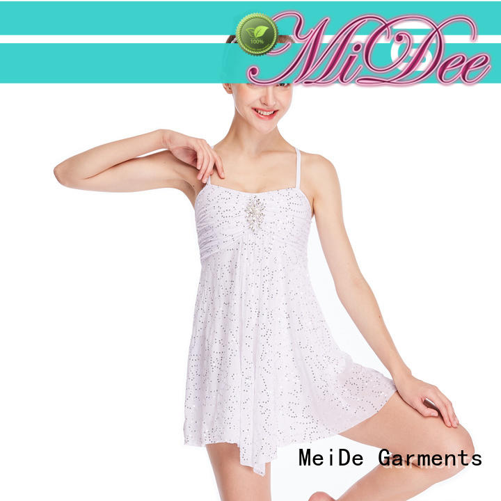 MIDEE sequins lyrical contemporary costumes dance clothes competition