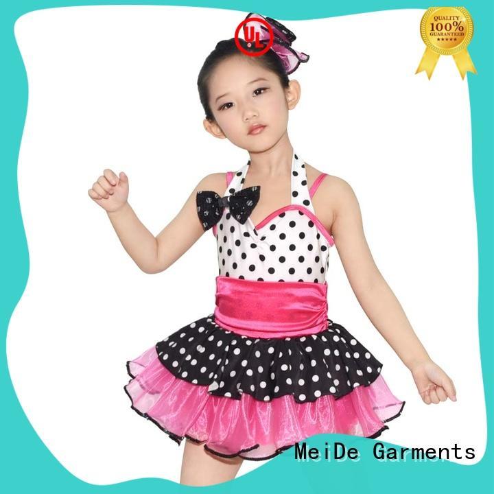 MIDEE adjustable girls ballet costume bulk production performance