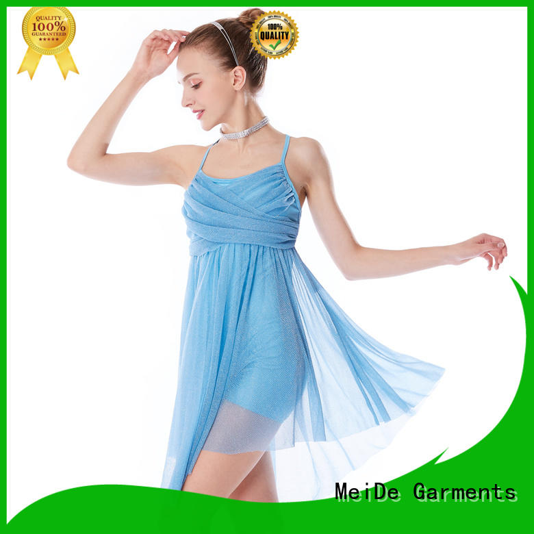 MIDEE sequined girls lyrical dance costumes dance clothes competition