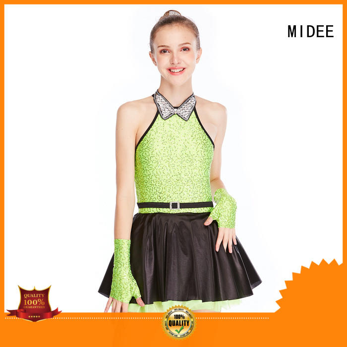 MIDEE fringed jazz outfits ladies customization performance