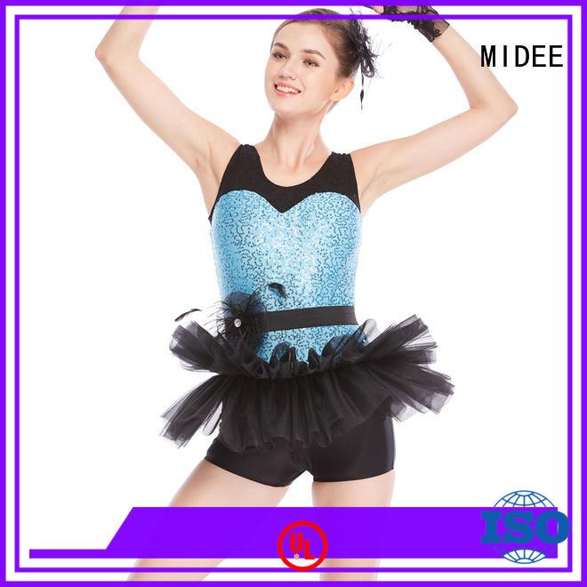 MIDEE swan kids ballet clothes odm show