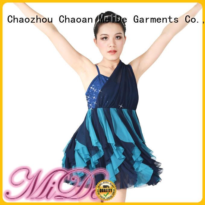 MIDEE professional dress latin dance costumes customization competition