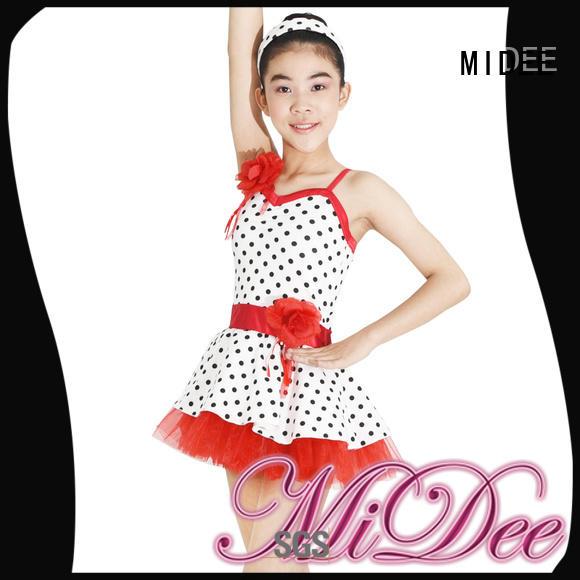 MIDEE shoulder womens ballet leotards bulk production dancer