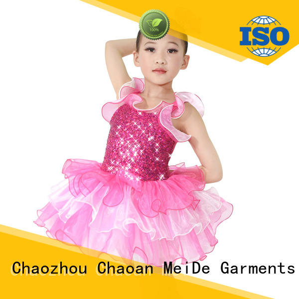 MIDEE comfortable kids ballet clothes factory price dancer