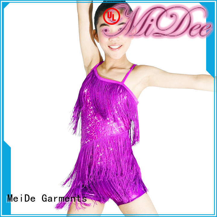 MIDEE neck dance costumes jazz manufacturer dance school