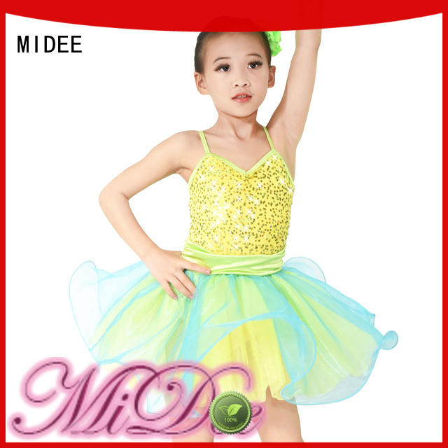 MIDEE lace kids ballet outfit factory price Stage