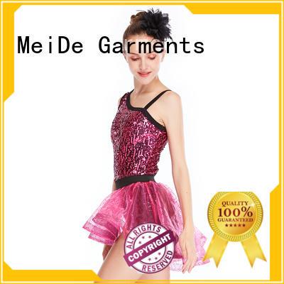 MIDEE wear girls jazz costumes manufacturer show