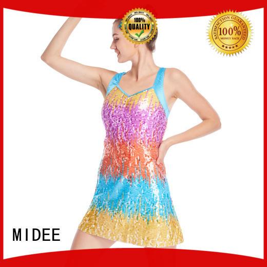 MIDEE cheerful jazz dance costumes manufacturer show