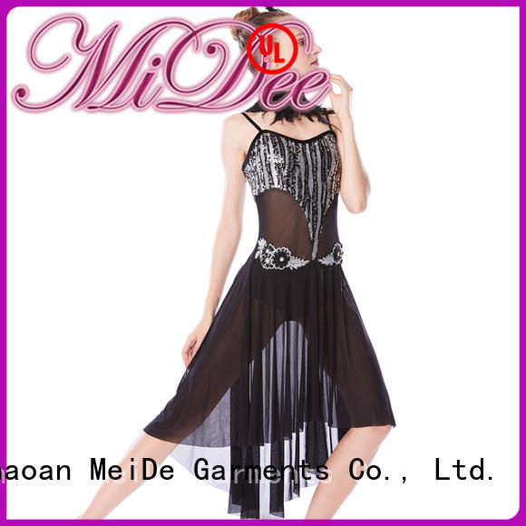 MIDEE OEM lyrical dance costumes for competition dance clothes show