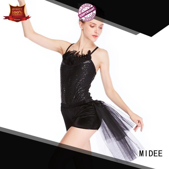 comfortable ballet dancewear shoulder bulk production show
