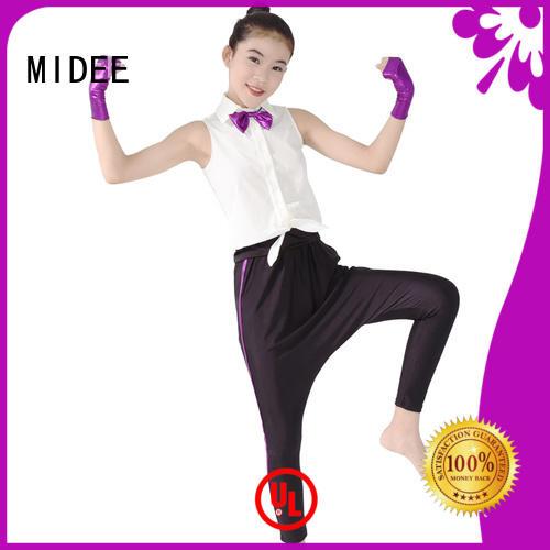 odm girls jazz costumes sequins for wholesale dance school