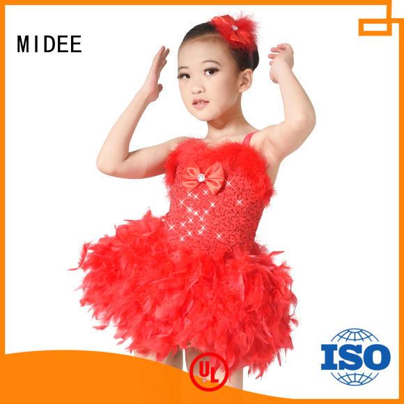 MIDEE anti-wear ballet outfits odm dance school