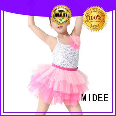 MIDEE dance toddler ballet outfit odm performance