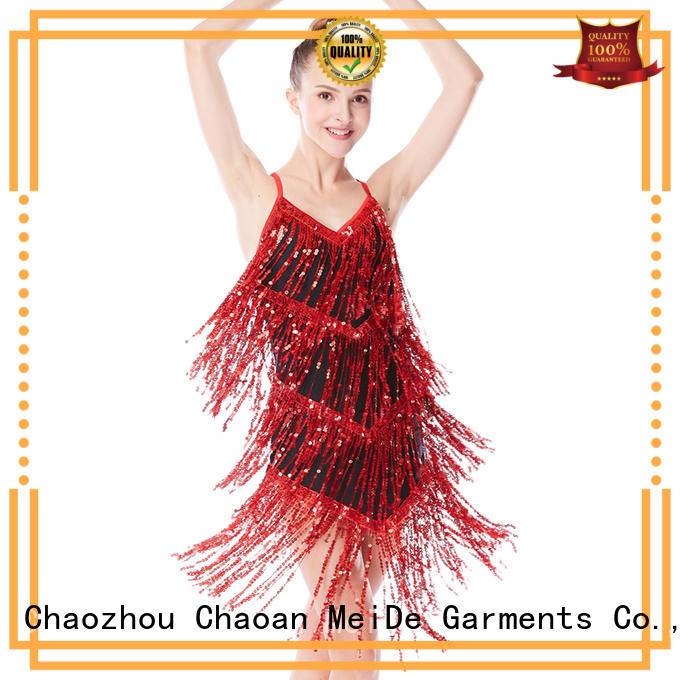 odm jazz costumes for competition floral customization Stage