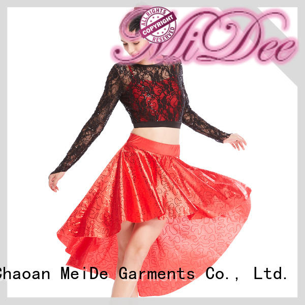 MIDEE jazz dance clothes floral show
